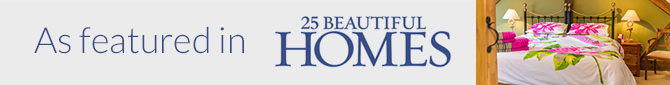 As featured in 25 beautiful homes