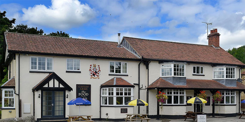 Cayley Arms Allerston